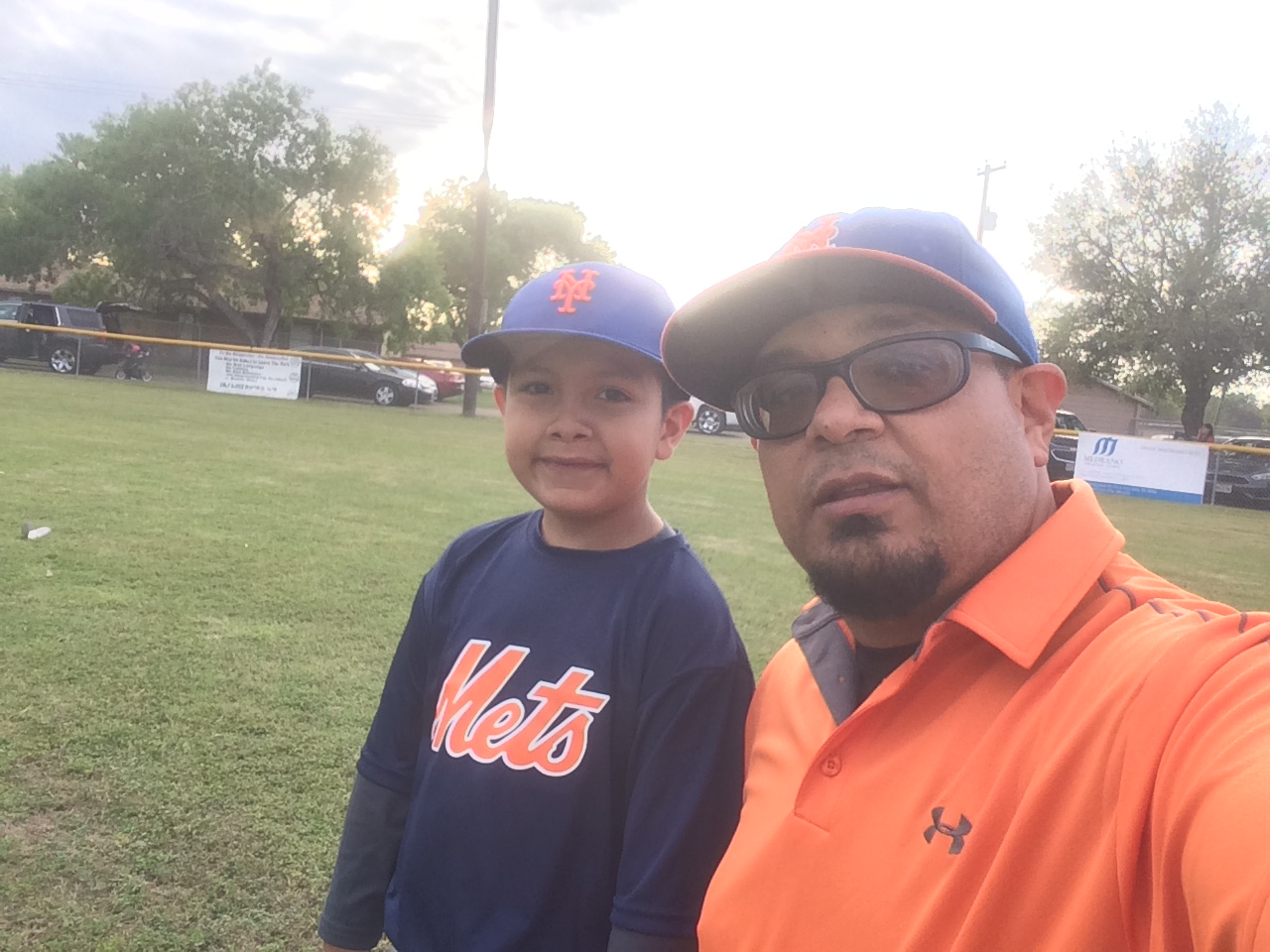 submission baseball father son